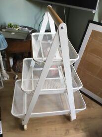 Ikea RISATORP Trolley Veg or pot storage