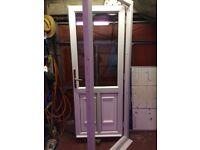 UPVC door frame & keys