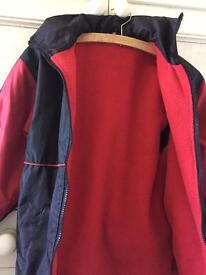 Horsley Football fleece line jacket