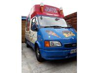 Lez compliant ice cream van