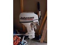 Johnson 9.9 2 stroke outboard £400 ovno