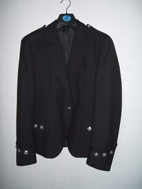 Gents Black Argyll Jacket
