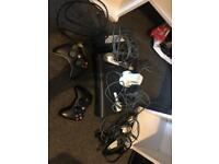 Xbox 360 elite, extras and 27 games