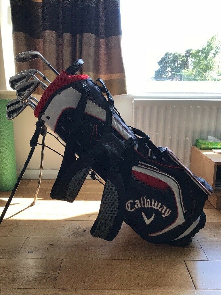 Callaway X Series N415 Irons 5i Sw And Bag Inc Recovery Club In