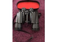 Binoculars Mark Scheffel 10x50 Field 5.5° with original Black Case.