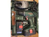 Bosch 18v cordless drill/screwdriver