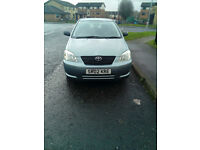 Toyota Corolla in very good cond