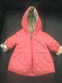 Girls Burberry coat