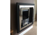 Crystal Fires Gem Hole in the Wall Outset gas fire fireplace Lisa surround
