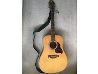Crafter D8 full size handmade steel-strung acoustic guitar