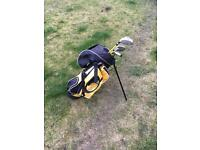 Golf clubs (with bag)