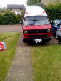 Vw t25 diesel camper van just add sun.12 months mot .