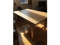 Ikea Wooden Extendable Dining Table £50