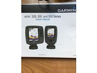 FOR SALE Garmin echo 301c fish finder sonar