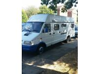 iveco daily diesel very good driver 9 months mot 2 double beds toilet shower fridge kitchen