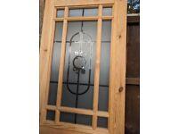 Internal solid wooden door