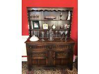 Large 1930's Oak Welsh Dresser