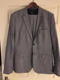 H&M suit 44r
