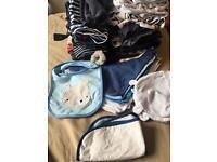 Bargain joblot of baby boy clothes 0-6 months