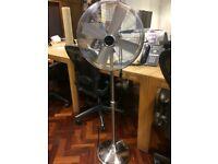 John Lewis Metal Fan - adjustable height