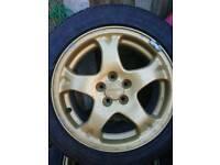 """Subaru 16"""" alloys"""