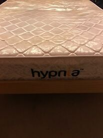 Double bed with Hypnia mattress