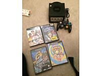 Black Nintendo GameCube bundle