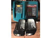 Makita 14.4v batteries and charger
