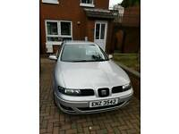 2002 seat leon 1.9 tdi s 90bhp (not vw skoda audi nissan bmw kia) REASONABLE OFFER NOT REFUSSED