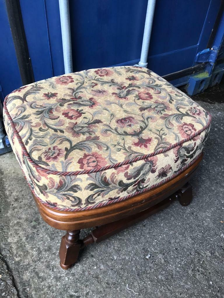 Vintage foot stool FREE DELIVERY PLYMOUTH AREA