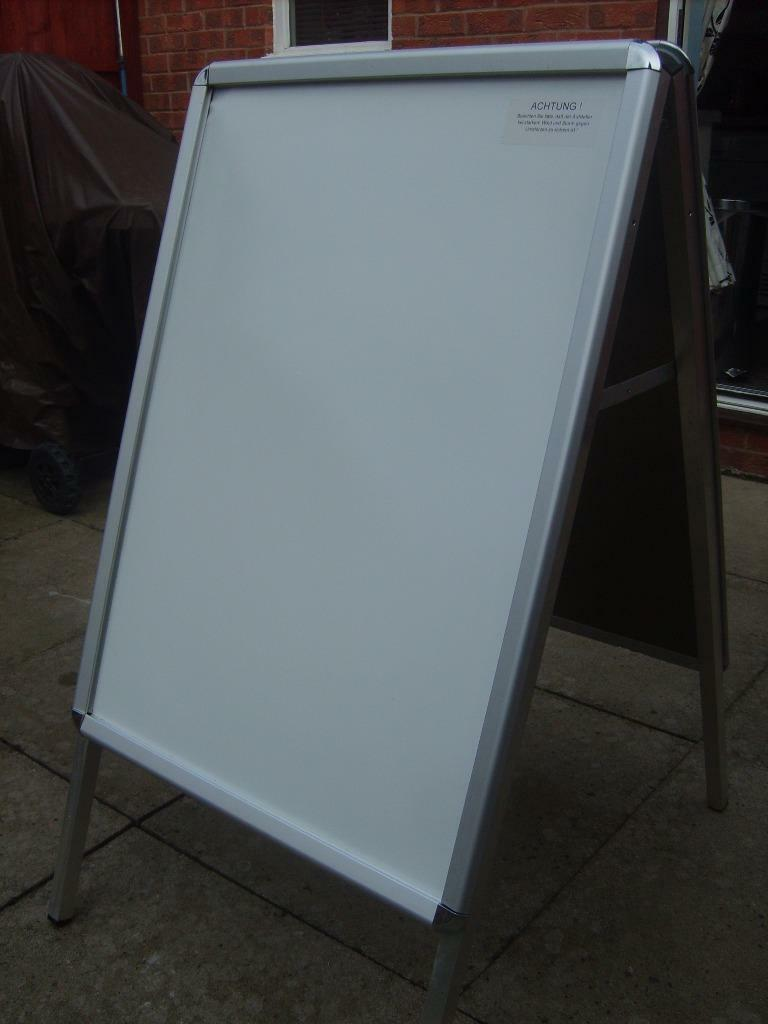 A board double sided aluminium pavement sign in Beeston  : 86 from www.gumtree.com size 768 x 1024 jpeg 47kB