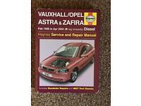 Haynes Vauxhall/Opel Astra & Zafira Service & Repair Manual