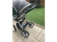 Baby couture 3 in 1 pram