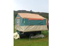 2005/6 Racelet quickstop folding camper/trailer tent