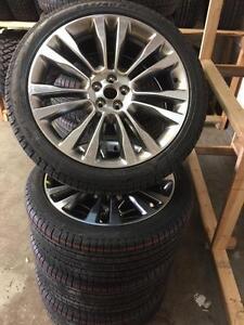 "21"" OEM Ford Edge/Lincoln MKX/Range Rover Evoque/ Landrover/ jaguar F-Pace 5x108 (265/45r21 Pirelli) with sensors"