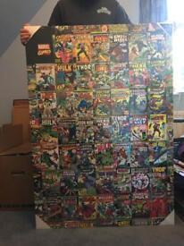 A1 Marvel Comic Canvas