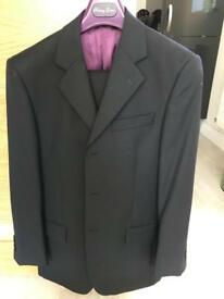 Racing green men's suit