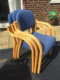 Stackable Dining Room CHairs X 8