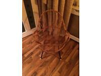 Retro 60's Cane Chair.