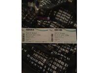 2 Justin Bieber tickets Birmingham 24th october