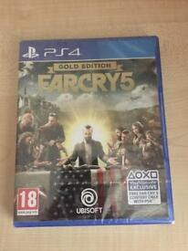 Far cry 5 gold edition ps4 brand new sealed