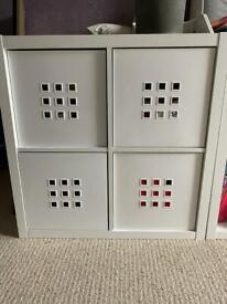 Toy storage & book shelf x2