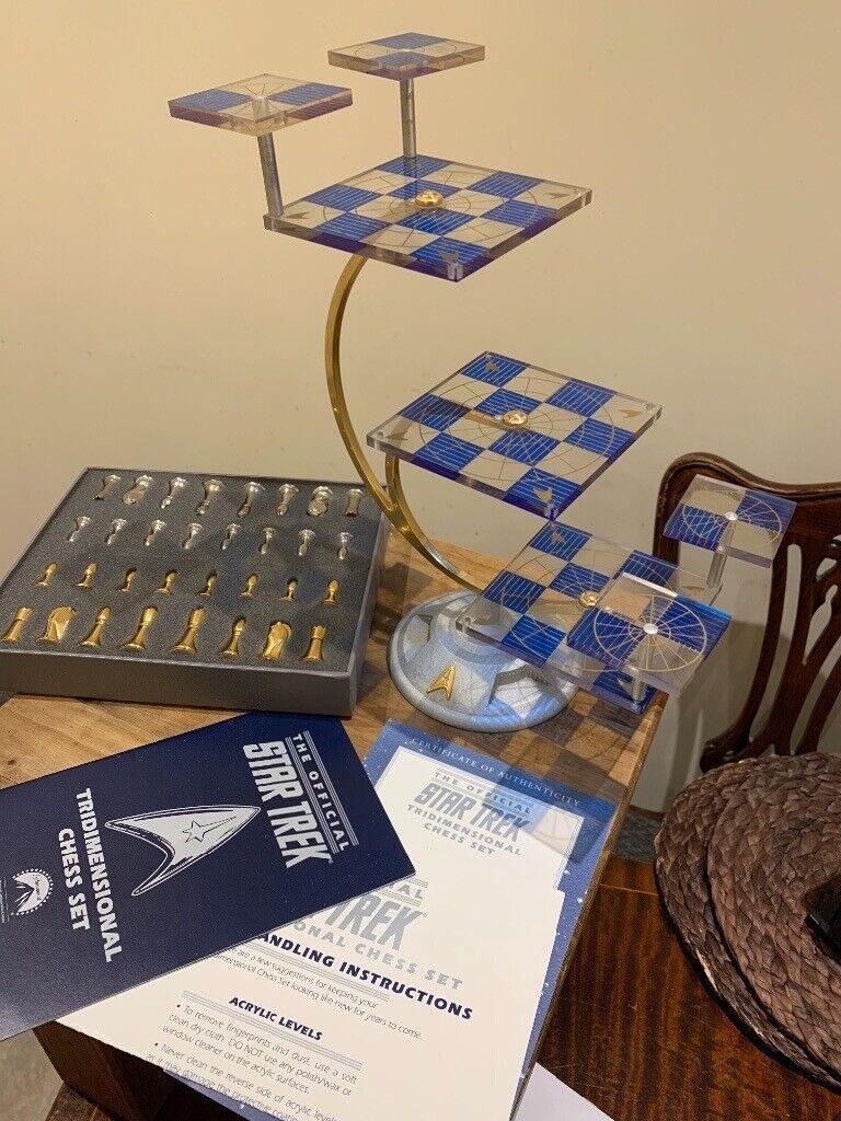 Star Trek Tridimensional Chess Set In Deal Kent Gumtree