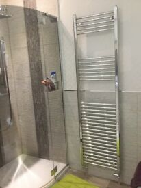 Silver Towel radiator