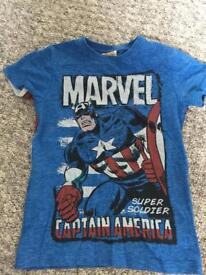 Superhero T-shirts Age 5 x 3