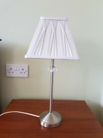 Table lamp with Laura Ashley shade