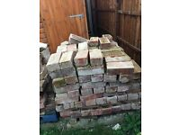 RECLAMED BUILDING BRICKS 380 APROX. In good condition need to be collected.