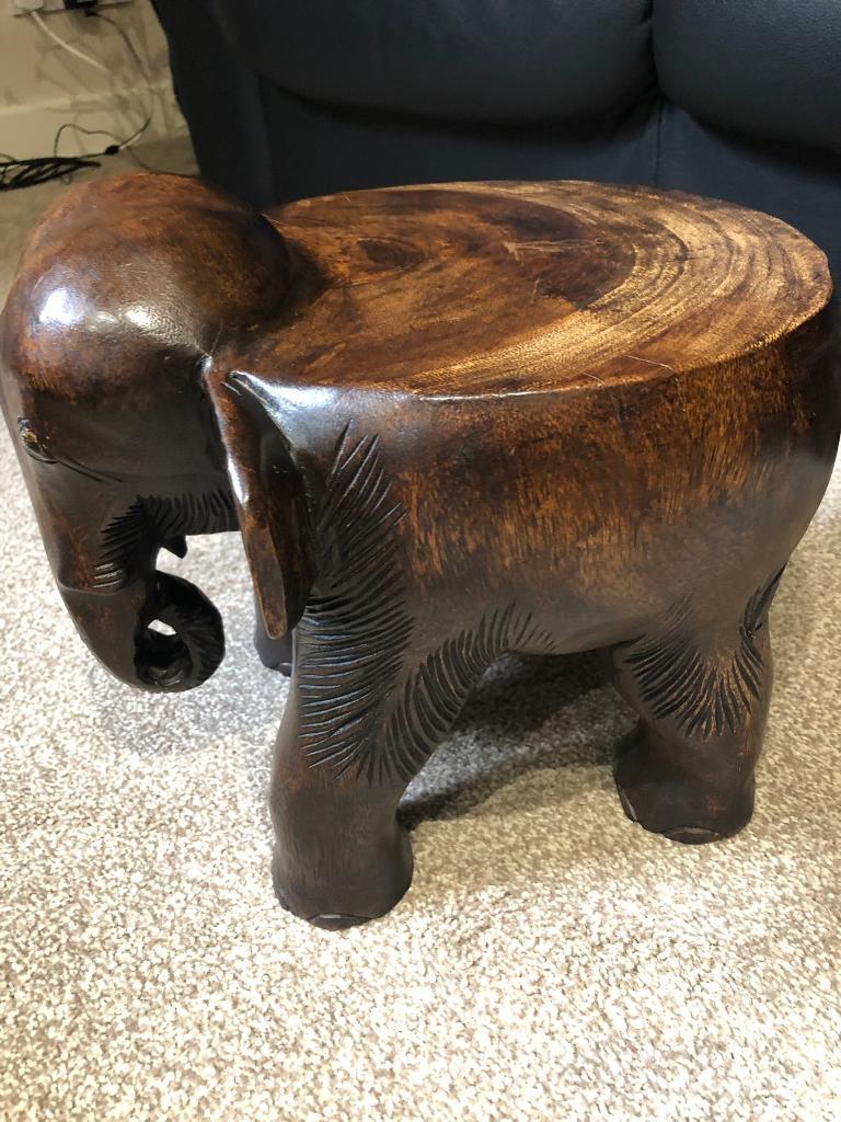 Wooden Elephant Table In Romford London Gumtree