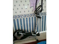 Exercise Bike and Reebok Mini Trampoline £33