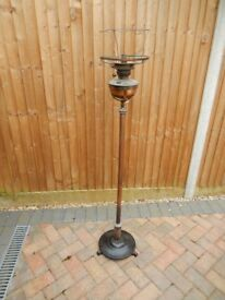 Vintage Oil Lamp with adjustable stand